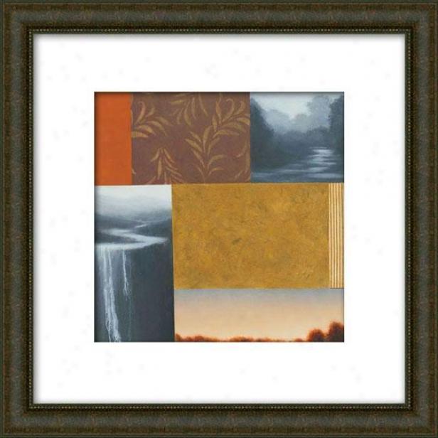 Daytripper Ii Framed Wall Art - Ii, Matted Burlwood