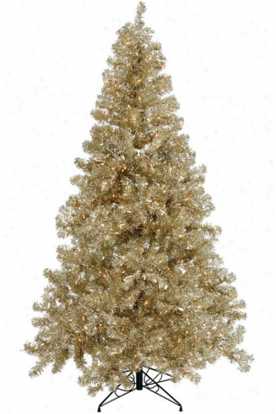 """dazzle Christmas Tree - 96""""hx53""""w, Tan"""