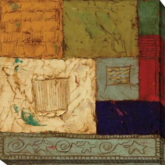 Departure V Canvas Wall Art - V, Multi