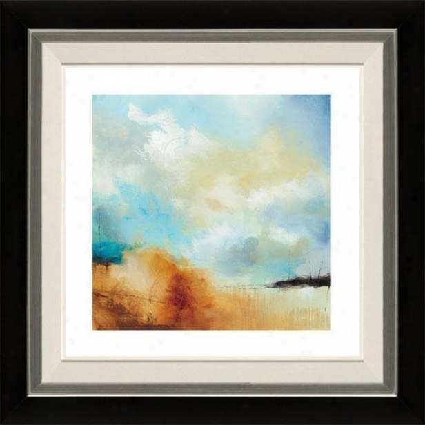 Desert Skies I Framed Wall Art - I, Flt Black/slvr