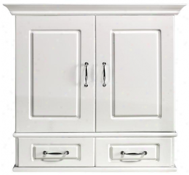 """dexter 23""""w Wall Cabinet With Wood Doors - 23.5""""w, White"""