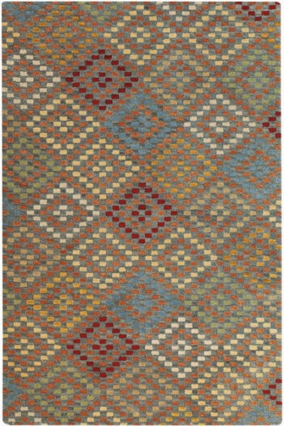 """diamond Area Rug Ii - 3'6""""x5'6"""", Multi"""