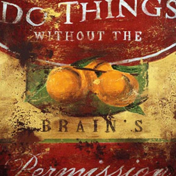 """do Things Wall Art - 24""""squarex2""""d, Red"""
