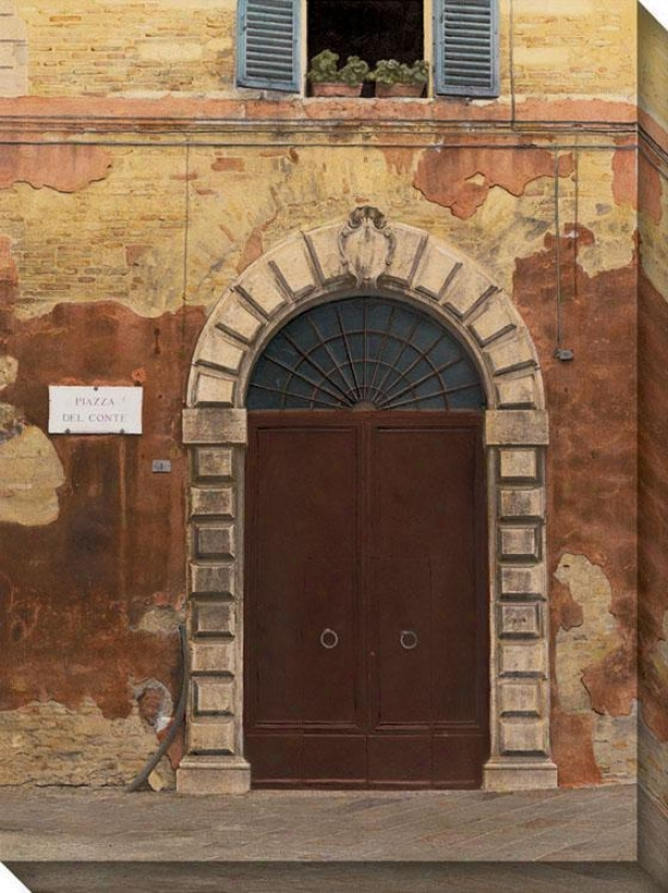 Door Series Ii Canvas Wall Aet - Ii/brick Arch, Mul5i
