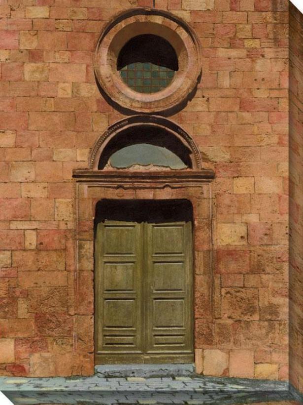 Door Series Iii Canvas Wall Art - Iii/arch W/wndw, Mupti