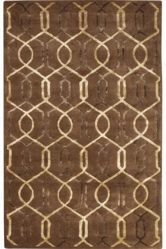 """downing Area Rug - 3'6""""x5'6"""", Lkght Chocolate"""