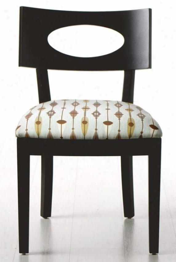 """""""draper Side Chair - 31""""""""hx20.5""""""""w, Retro Print"""""""