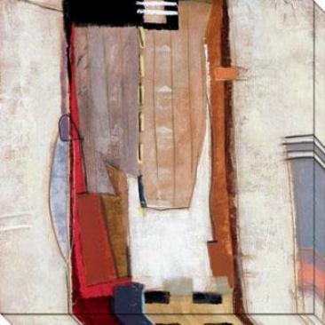 Dream Through Time I Canvas Wall Art - I, White