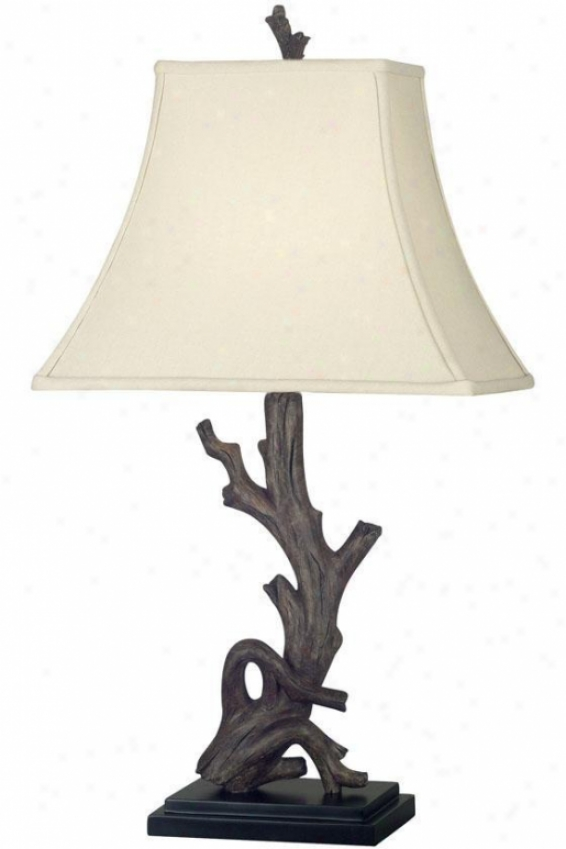 """""""drift Table Lamp - 30""""""""h, Brown Forest"""""""