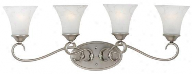 Duchdss 4-light Vanity - 4 Instruction, Nickel