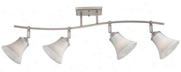 Duchess Track Lighting - 4Window, Nickel