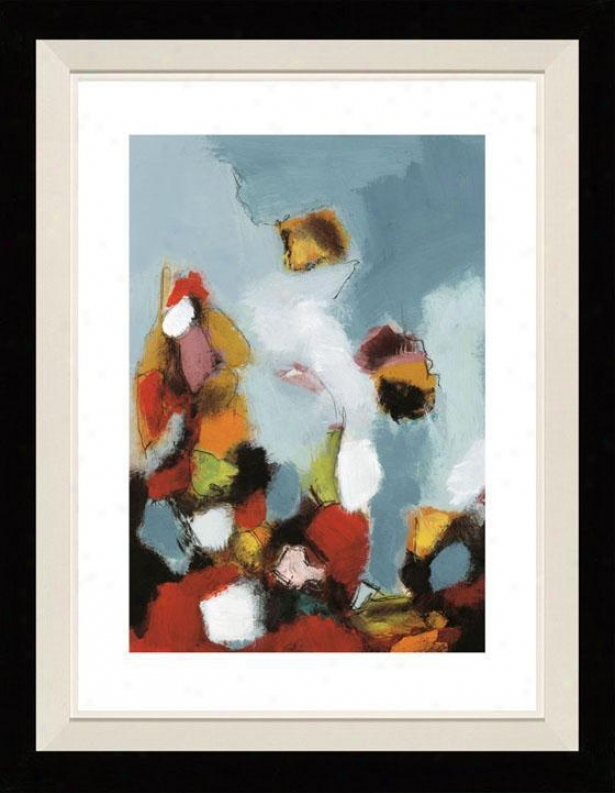 Earlyy Celebration Ii Framed Wall Art - Ii, Floated Black