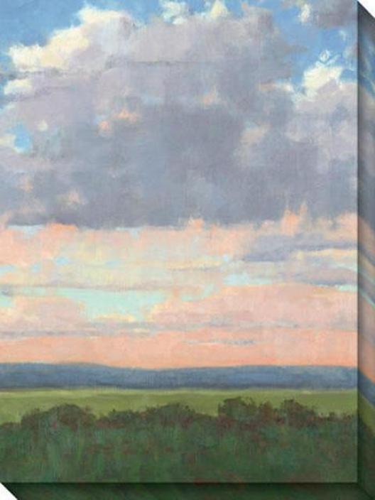 Easter Morning Iii Canvas Wall Cunning - Iii, Blue