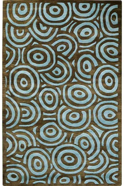 Echo I Area Rug - 8'x11', Blue
