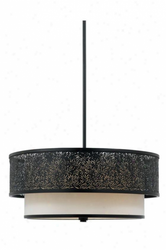 Eden -3light Pendant - 3-light, Black
