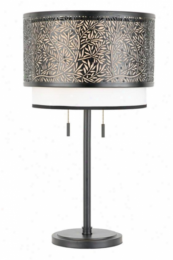 """eden Table Lamp - 26""""u, Blaco"""