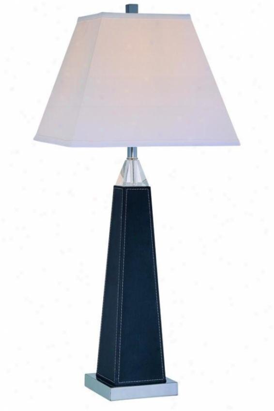 """edena Table Lamp - 30.5h X 13""""w, Black"""