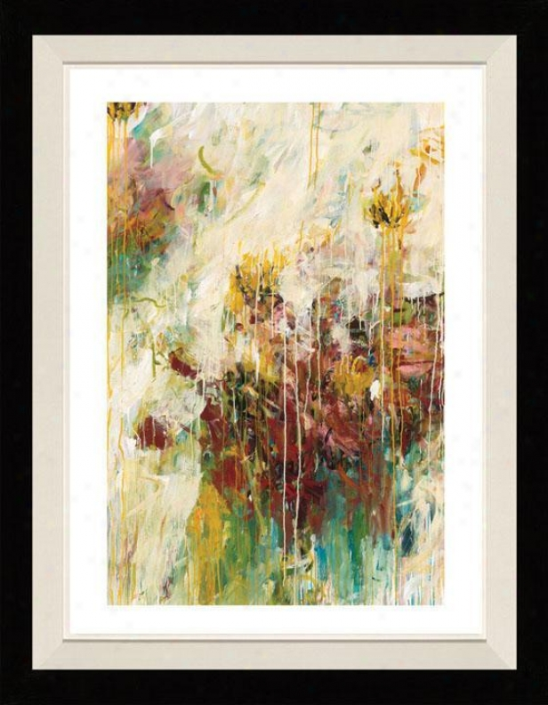 Efflotescence Ii Framed Wall Art - Ii, Floated Black