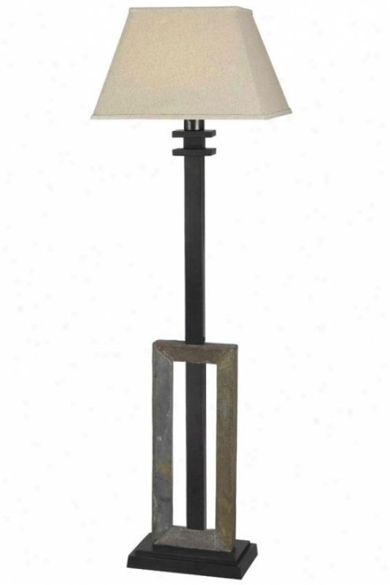 """egress Outdoor Floor Lamp - 58""""h X 17""""w, Beige"""