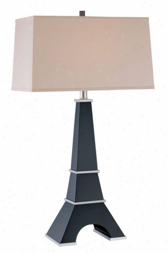 """eiffel Table Lamp - 30.25h X 17""""w, Brown Forest"""