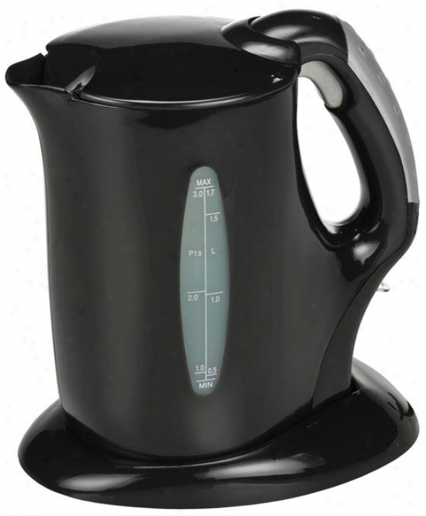 Electric Kettle - 10.3hx5wx8.5d, Of a ~ color