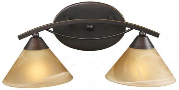 """ellison 18""""w Vanity - 2-light, Bronze Bronze"""