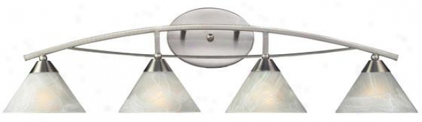 """ellison 36""""w Vanity - 4-light, Silver"""