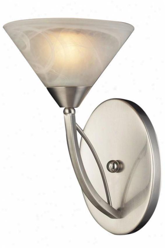 Ellison Wall Bracket - 1-light, Silver