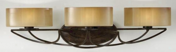 Elsworth Vanity Gay - Three Light, Mocha Bronze