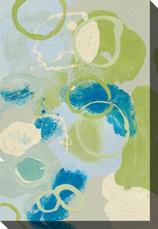 Emerging Impression Iii Canvas Wall Art - Iii, Green