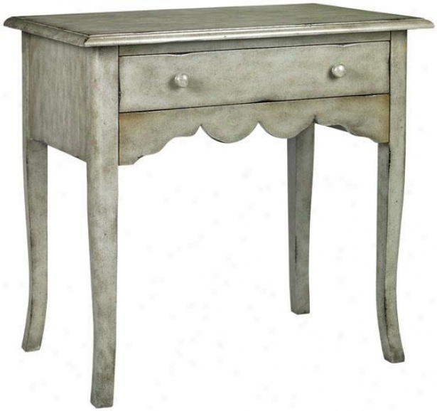 """emily Desk - 30.5""""hx32""""w, Grey"""
