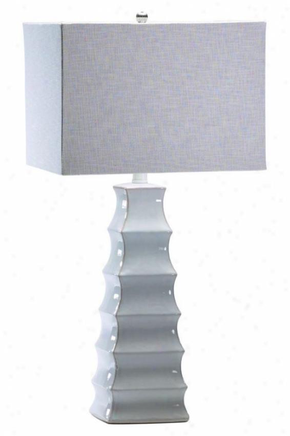 """emily Lamp - 28""""h, White"""