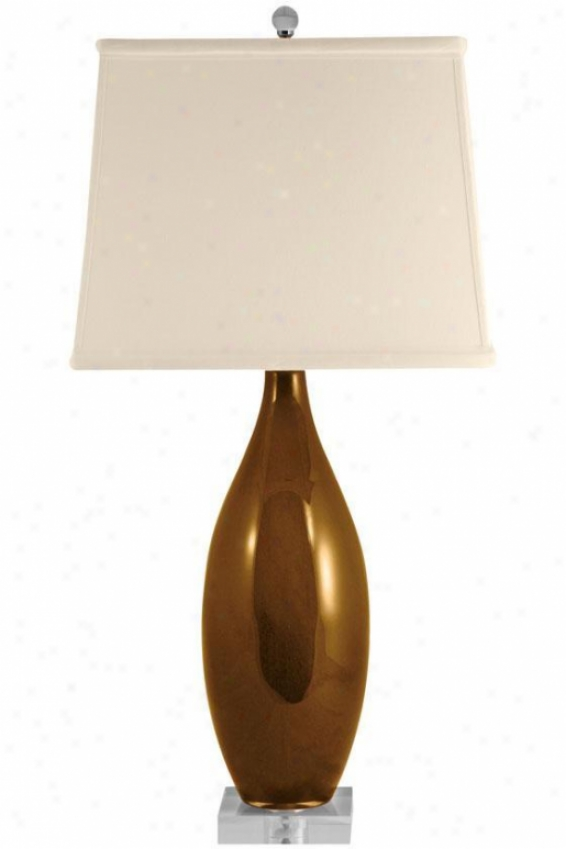 """emma Table Lamp - 29""""hx13""""w, Bronze"""