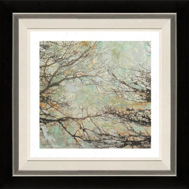 Enchanted Ii Framed Wall Art - Ii, Fltd Black/slvr