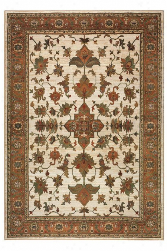 Enchantment Area Rug - 8' Square, Ivory