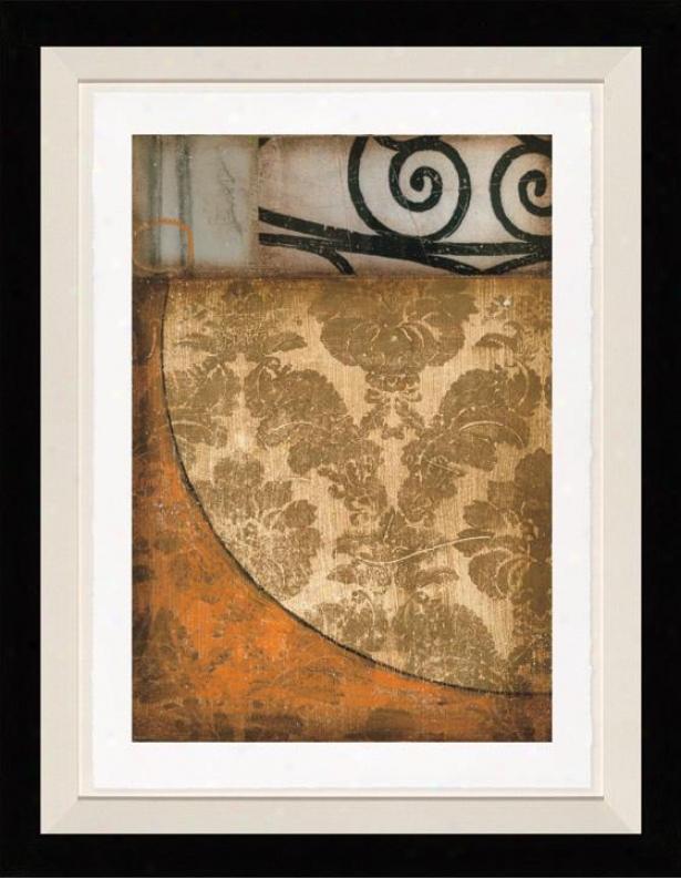 Endeavoor I Wall Art - Dark Frame, Brown
