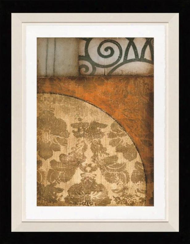 Endeavor Ii Wall Art - Black Frame, Browh