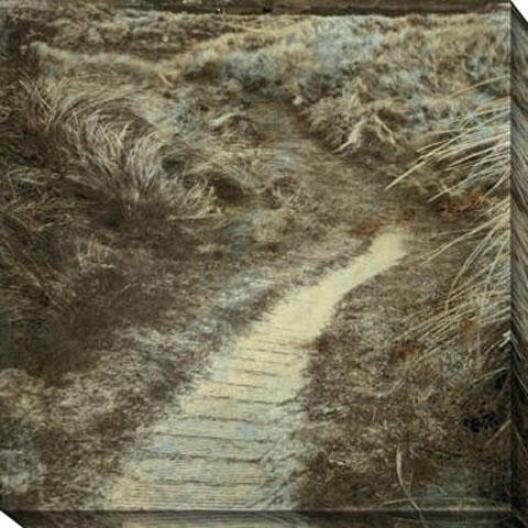 Endless Journey Ij Canvas Wall Art - Ii, Blaco