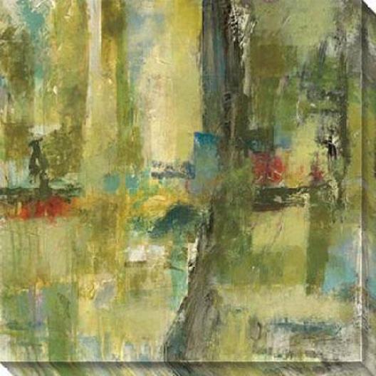 Equivalence I Canvas Wall Skill - I, Green