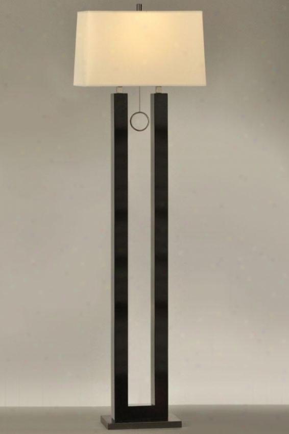 """""""erin Floor Lamp - 62h X 18x 38""""""""w, Black"""""""