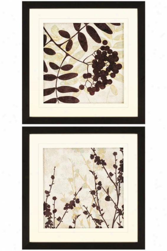 Essential Elements Ii Wall Art - Set Of 2 - Set Of 2, Brown