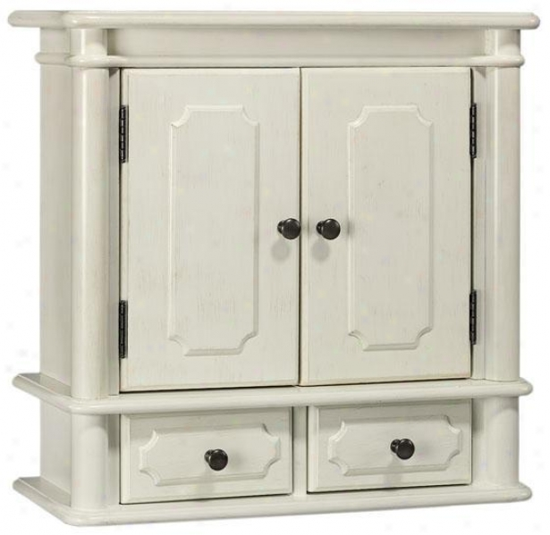Essex Wall Cabinet - Wood Doo, White