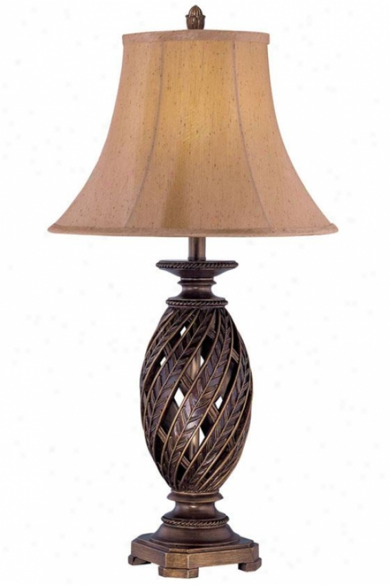 """estefania Table Lamp - 33.25""""h X 17""""w, Bronze"""