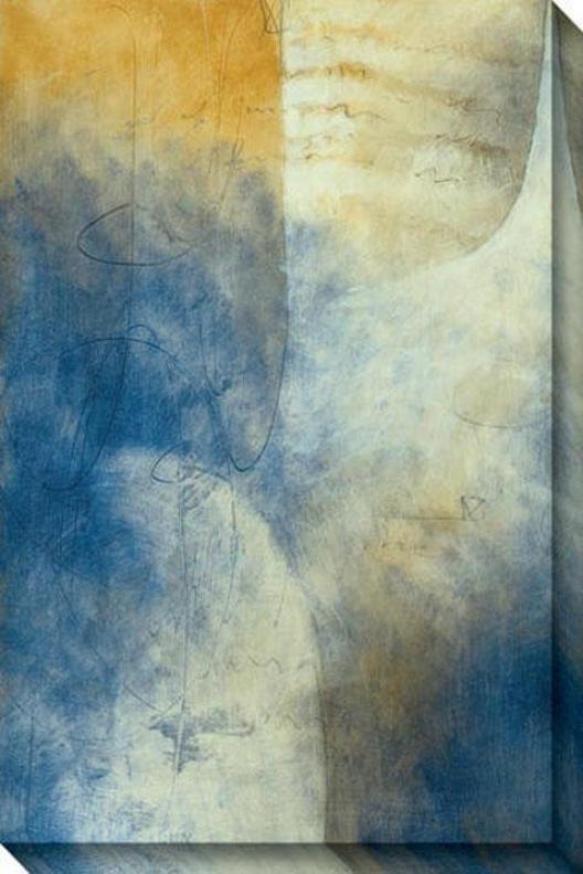 Eternai Ii Canvas Wall Art - Ii, Blue