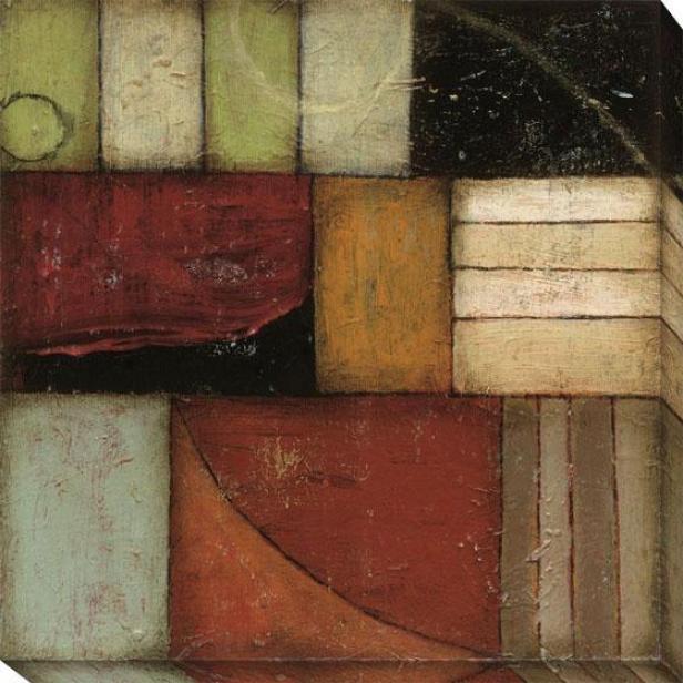 Banish I Canvas Wall Art - I, Earthtones