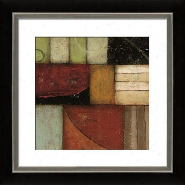 Exile I Framed Wall Art - I, Flted Blk 30x30