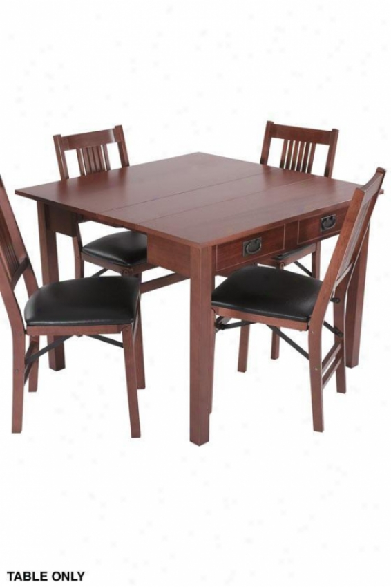 """expandaway Combination Dining Table - 30""""hx40""""w, Brown"""