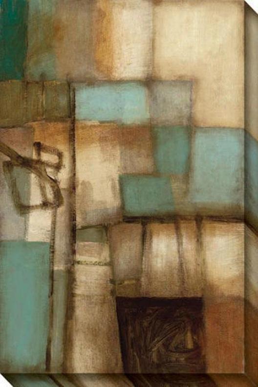 External Circumstances I Canvas Wall Art - I, Brown