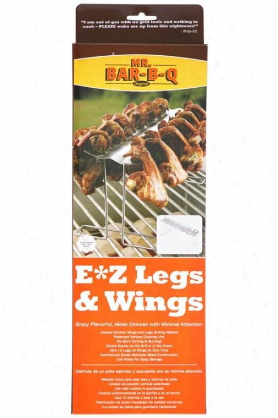 Ez Legs & Wings - 15.74hx5.11wx1., Satinlesa Stell