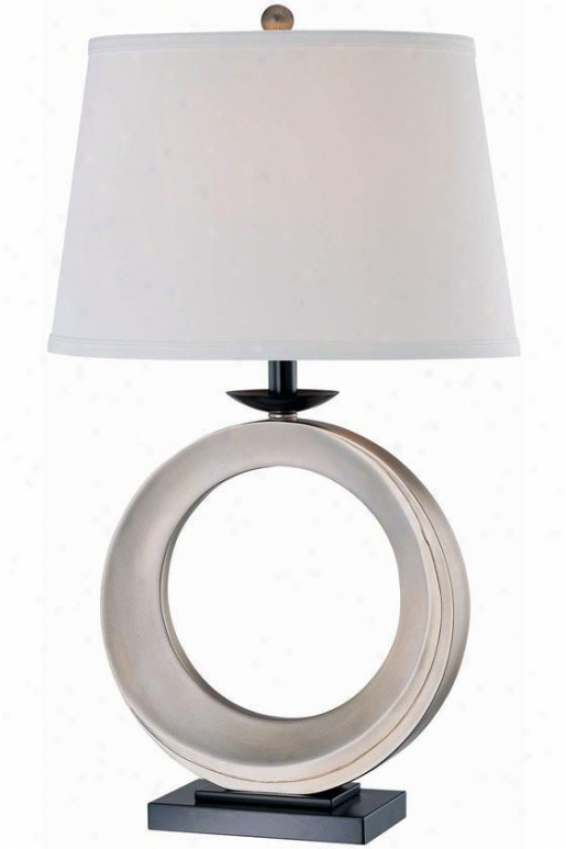 """""""fabray Table Lamp - 17""""""""x29"""""""", Silver Silver"""""""